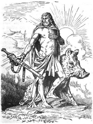 Freyr_by_Johannes_Gehrts
