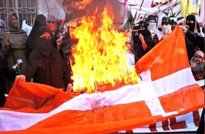 Danish-Flag-Burning-Muslims