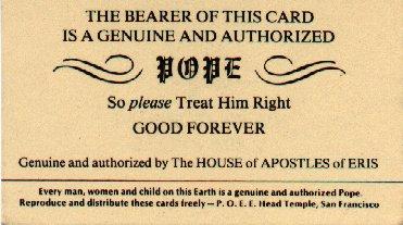 Popecard