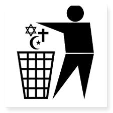 trash_religion_rectangle_sticker