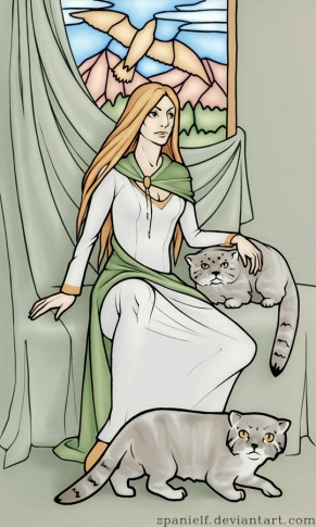 freyja_with_manuls_by_spanielf-d5gfwza