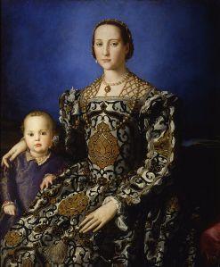 800px-Bronzino_-_Eleonora_di_Toledo_col_figlio_Giovanni_-_Google_Art_Project