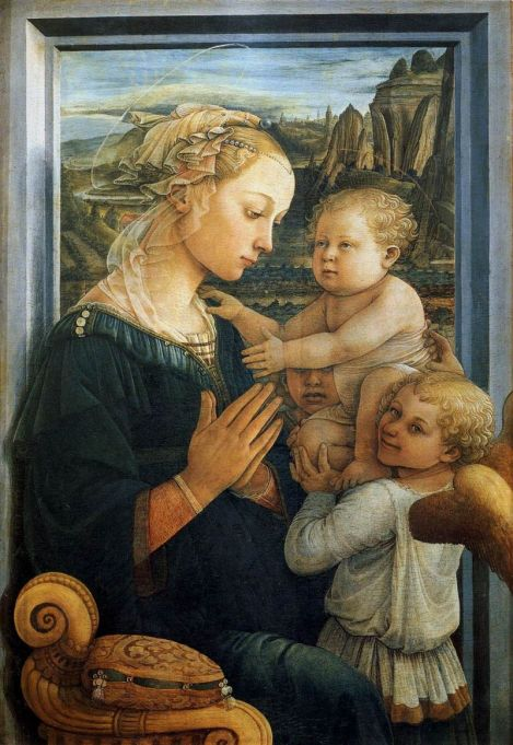 800px-Fra_Filippo_Lippi_-_Madonna_with_the_Child_and_two_Angels_-_WGA13307