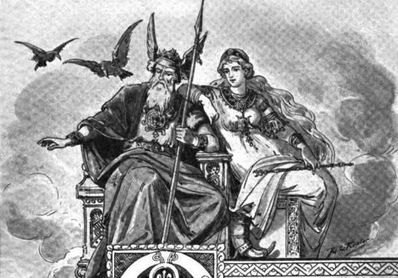 Engelmann4Odin and Frigga