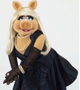For Sunday features - Muppets Most Wanted - MISS PIGGY portrait film still handout