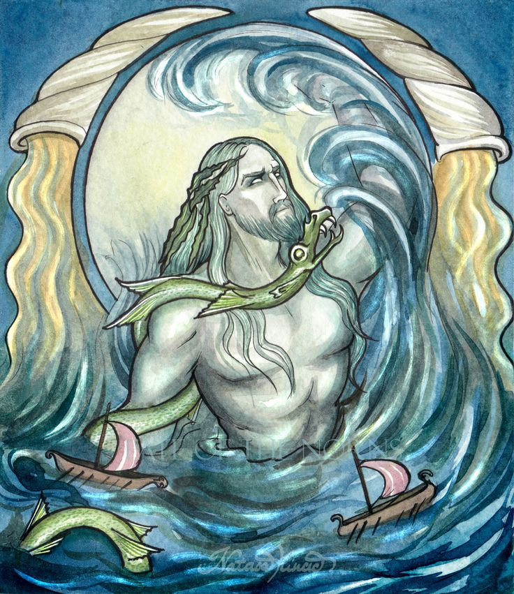 Njord the Sea God
