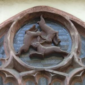 Paderborner_Dom_Dreihasenfenster