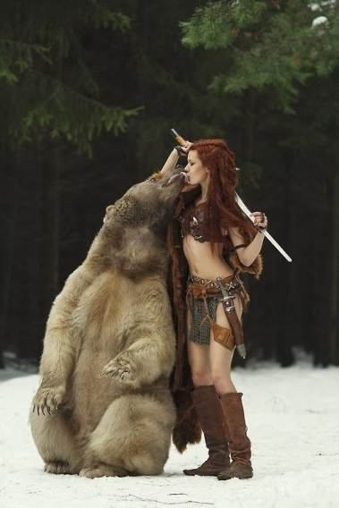 cosplay+with+bear