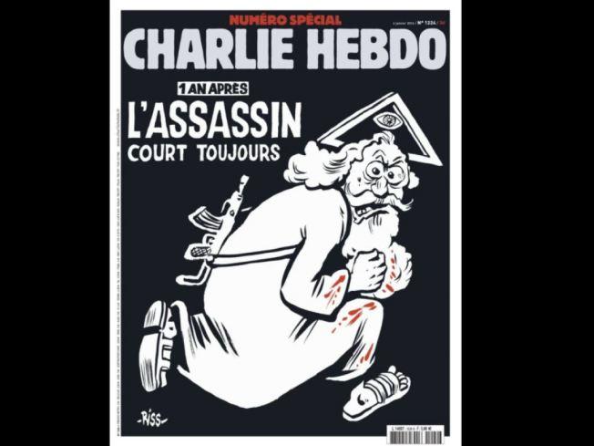 Le numéro spécial comprend un cahier de dessins des caricaturistes disparus.