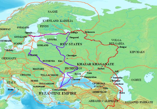 Varangian_routes