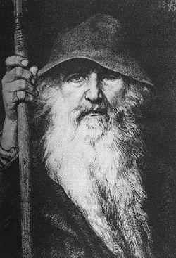 250px-Georg_von_Rosen_-_Oden_som_vandringsman,_1886_(Odin,_the_Wanderer)