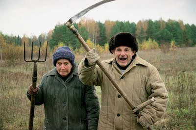russian-villagers