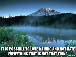 possible to love a thing